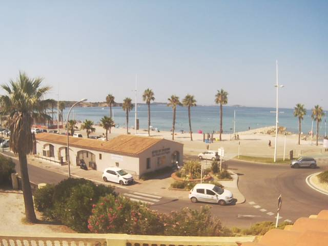 Webcam plage de Bonnegrâce - Villa des Nurraghes